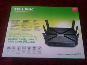 TP-LINK Archer Wireless AC5400 Tri-Band Gigabit Router (C5400)
