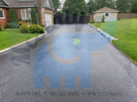 Hot asphalt repair, asphalt sealing, hot pour crack sealing