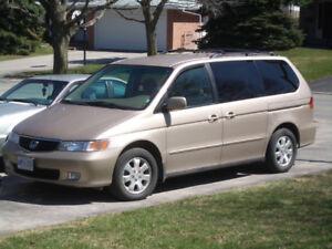 2003 Honda Odyssey for sale $3000 OBO