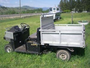 CUSHMAN TURF-TRUCKSTER Hydraulic Dump Box rear PTO