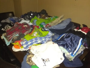 Boys Clothes 115+ Pieces 6-18 Months