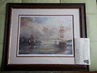 Tall Ships The Spanish Galleon by Cape Breton Artist Marie Moore