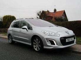 2013 Peugeot 308 1.6 e HDi 115 ACTIVE 5DR AUTOMATIC TURBO DIESEL ESTATE * SAT...