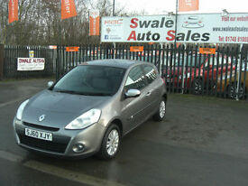 2010 RENAULT CLIO I-MUSIC 1.2L ONLY 46,448 MILES, FULL SERVICE HISTORY