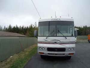 For Sale 2002 34 foot Winnebago Itasca Suncruiser