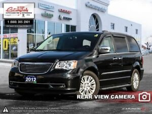 2012 Chrysler Town  Country LIMITED  - Leather Seats