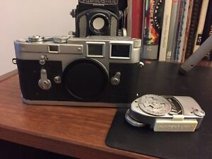 Leica M3 Single Stroke with Meter