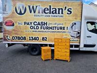 Tall Pinewood chest of drawers £70 locker £20