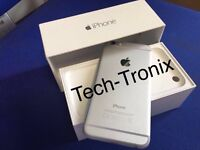 Iphone 6 16 GiG Boxed Unlocked White/Silver