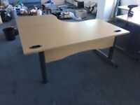 10 great quality office corner desks & reduced again @ just £45 each Only!!