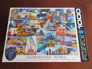 1000 Eurographics Puzzle - Globetrotter World  Fun to do!!
