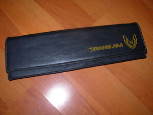 Trans Am storage dash pouch
