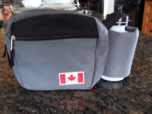 Canadian Fanny Pack Waist Bag Purse with Water bottle, Lot of 10