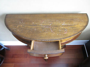 Half Round Console Table London Ontario image 2