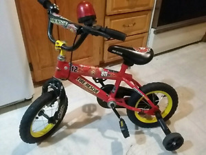 Fireman Bicycle with lights and siren