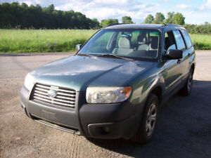 2007 Subaru Forester 2.5x Wagon  $1700 AS IS