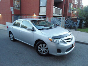 2011 TOYOTA COROLLA , LOW MILEAGE ,ONLY 100 KM , ONE OWNER !!!