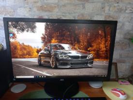 "AOCValueE2770SH- LED monitor - Full HD (1080p) - 27""Specs"
