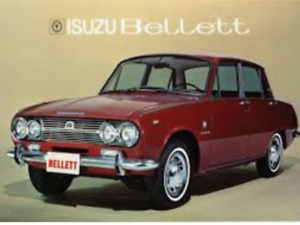 Isuzu bellett 1965, 1966,1967, 1968 et plus