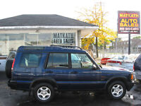 **2001 Land Rover Discovery SUV, Crossover** Cert & E-tested