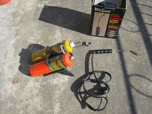 Benzomatic cutting,welding and brazing torch
