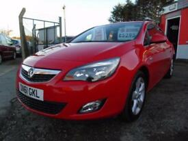 2011 Vauxhall Astra 1.6i 16V SRi 5dr FSH,Low mileage,Low rate finance availab...