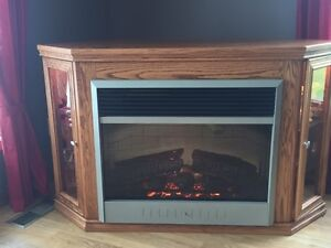 FIREPLACE with DISPLAY