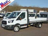 """2017 """"67"""" Ford Transit T350 TDCi 130PS, 13ft 10in DROPSIDE, Euro 6, DRW, LWB EF,"""