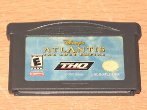 Disneys' Atlantis: The Lost Empire Nintendo Game Boy Advance NDS