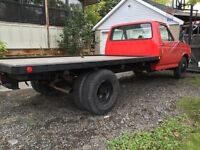 1987 Ford F-350 Flatbed Dually Certified.