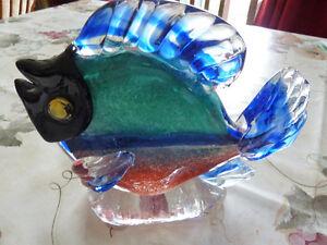 Poisson en verre soufflé Saint-Hyacinthe Québec image 1