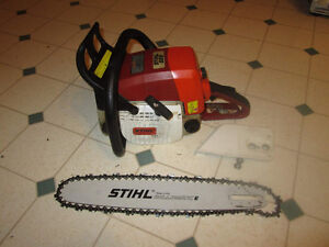 searching for  burnt out stihl chainsaws