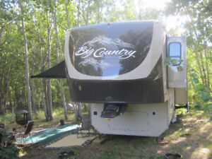2012 BIG COUNTRY 3450TS  GOLD EDITION  5th wheel