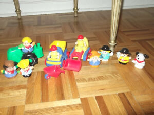 personnages de fisher price