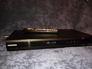 Samsung HDMI DVD Player with Remote and 10' HDMI Cable.