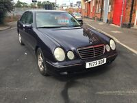 Mercedes E2 40 super nice condition only 77,000 warranted miles A Gem