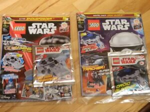 LEGO STAR WARS LIMITED EDITION FIGURES AND MAGAZINES LOOK
