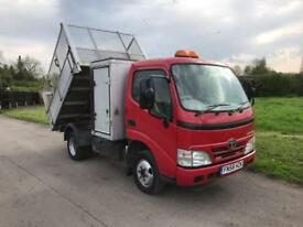 TOYOTA DYNA 350 D-4D MWB CC CAGED TIPPER TREE Red Manual Diesel, 2008