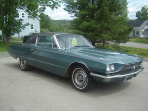 1966 FORD THUNDERBIRD 2 DOOR COUPE FROM OUT WEST.