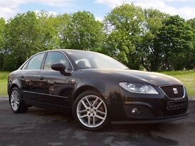SEAT Exeo 2.0 TDI DPF SE (Tech Pack) 4dr (black) 2011