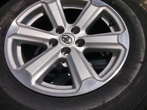 Toyota Highlander/Rav4/Sienna/Venza mags&tire 245-65-17,5x114.3