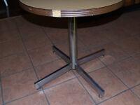 "petite table bistrot ""vintage"""