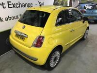 2010 10 FIAT 500 1.2 LOUNGE DUALOGIC 3D AUTO 69 BHP