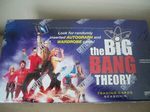 BIG BANG THEORY UNOPENED BOX OF CARDS
