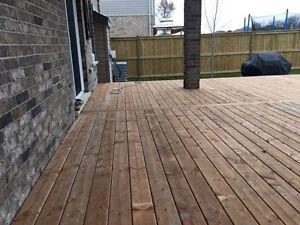 Deck builders fence builders London Ontario image 6