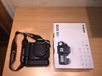 Canon 50d with vertical grip - body only