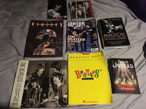 Tons of Beatles books