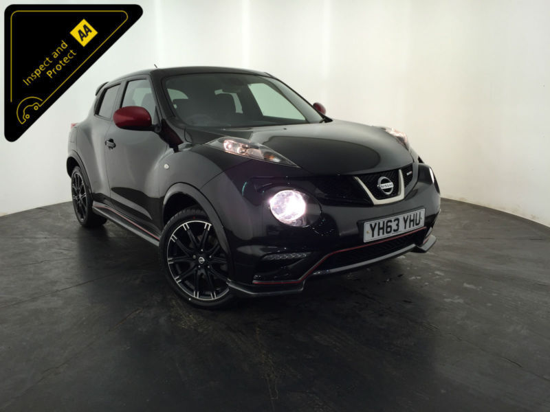 2013 63 NISSAN JUKE NISMO DIG-T 5 DOOR HATCHBACK 1 OWNER SERVICE HISTORY FINANCE