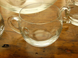 glass punch bowl set- made in Poland Peterborough Peterborough Area image 2