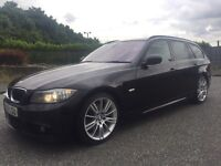 2010 BMW 330D M SPORT 241BHP LCI FACELIFT *xenons* *leathers* £10k in receipts 1 owner 335d